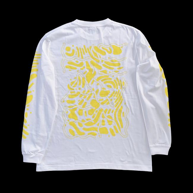 "KIM SONGHE HEAVEN Long T-Shirts""(back)"