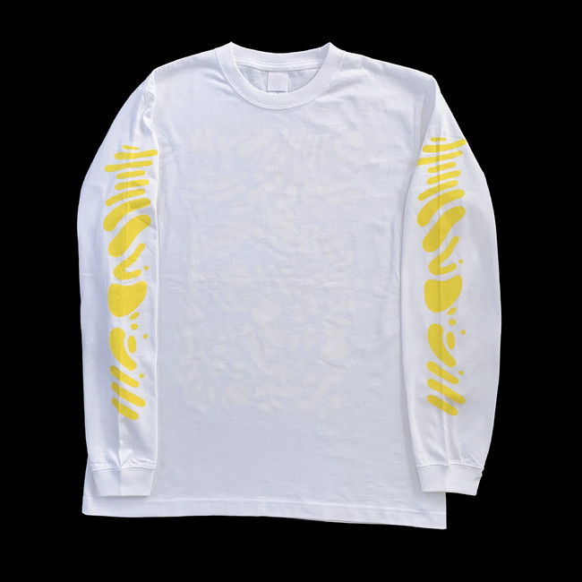 "KIM SONGHE HEAVEN Long T-Shirts""(front)"