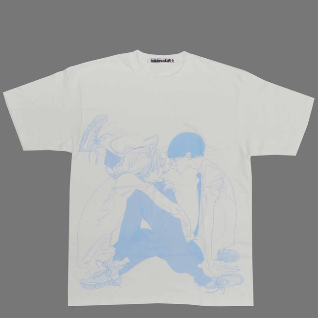 Asumiko Nakamura × MIKIOSAKABE ビッグサイズTシャツ