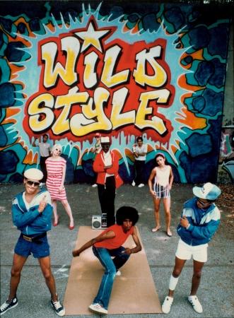 映画「Wild Style」(C)New York Beat Films LLC
