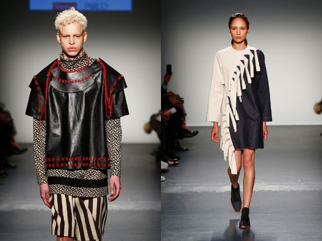 - 2016年2月ニューヨーク・ファッションウィーク時にて実施したAsia Fashion Collection - (左)日本:『ZOKUZOKUB』星拓真、(右)韓国:『Chungpepe』イム・オリョン