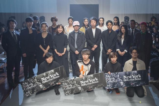 【NYFWに参加する6ブランドのデザイナー、審査員、発表作品を着用したモデル達】