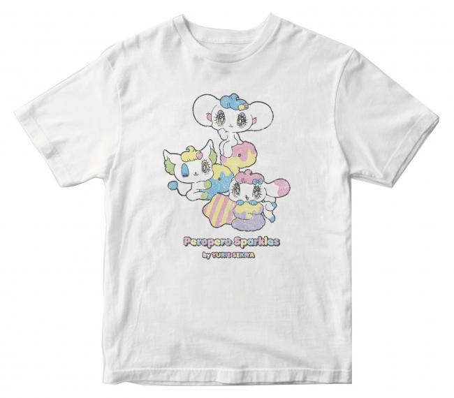 ▲ペロペロ★スパ~クルズ PP★S Tシャツ ホワイト