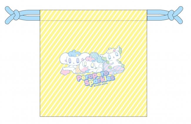▲ペロペロ★スパ~クルズ 巾着(裏)