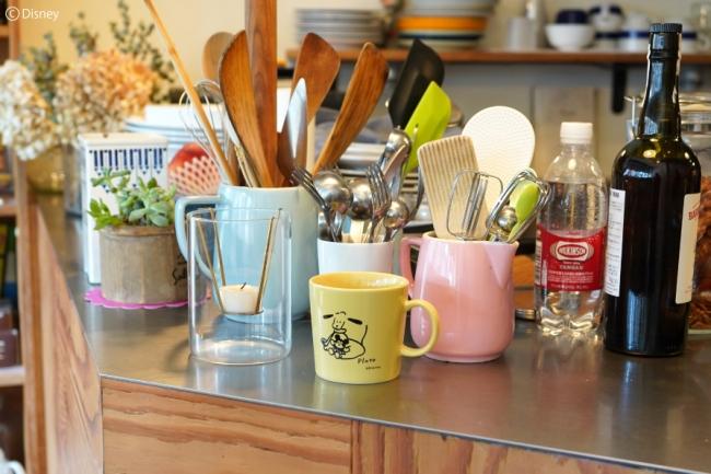マグカップ 全3種 1,900円+税 ミツカルストア「DISNEY ART COLLECTION」