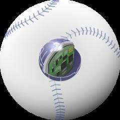 〈野球向けセンサー内蔵型IoTボール「TECHNICAL PITCH」」〉