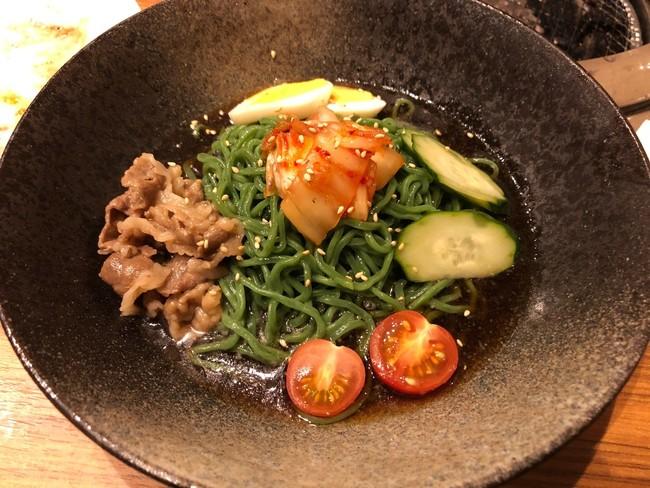 焼肉牛信の「石垣島冷麺」イメージ
