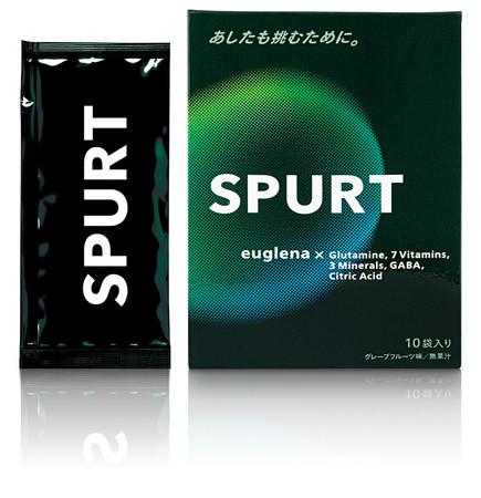 スポーツ用飲料「SPURT(スパート)」(左:粉末タイプ、右:ゼリータイプ)