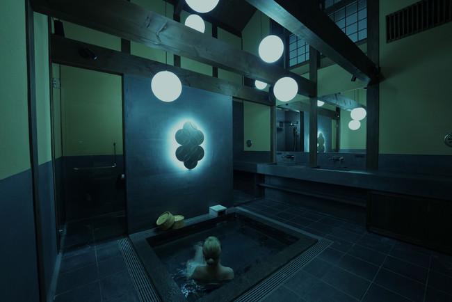After 光の蔵風呂 - Color Field Bathing-