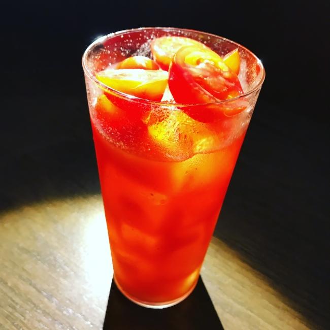 桜トマトのブラッディメアリー