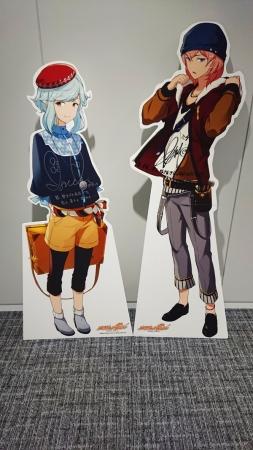 左:ダ・ヴィンチ(CV:井口祐一さん)右:ミケランジェロ(CV:KENNさん)