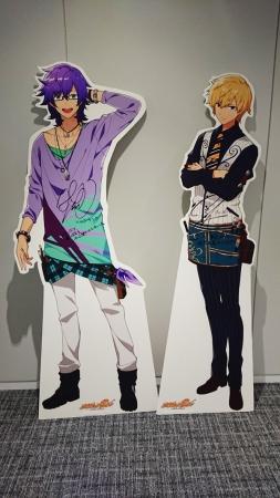 左:レンブラント(CV:花江夏樹さん)右:クールベ(CV:逢坂良太さん)
