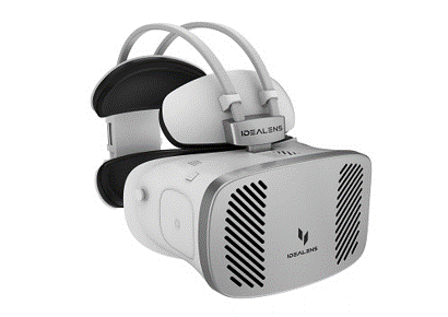 4K解像度の一体型VRゴーグル 「IDEALENS K4」