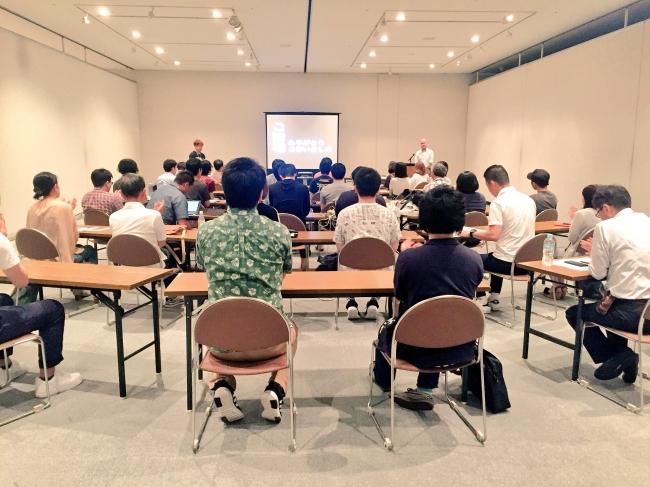 2018年7月GAMEサミットの開催模様。GAMEサミットは魚津市内にて毎月開催していく予定。