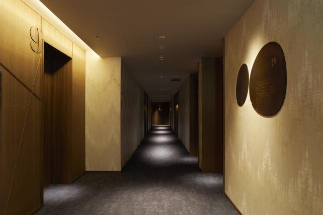 ゲストルームの廊下