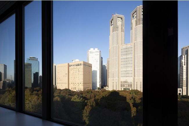 Park View Twin Room からの景色