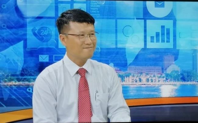 グエン・アン・フイ氏。ベトナム大手ディベロッパーとして主に交通インフラ、エネルギーインフラ開発を生業に、2017年度ダナン市IT工業団地・郊外都市計画・スマートシティ計画に参画