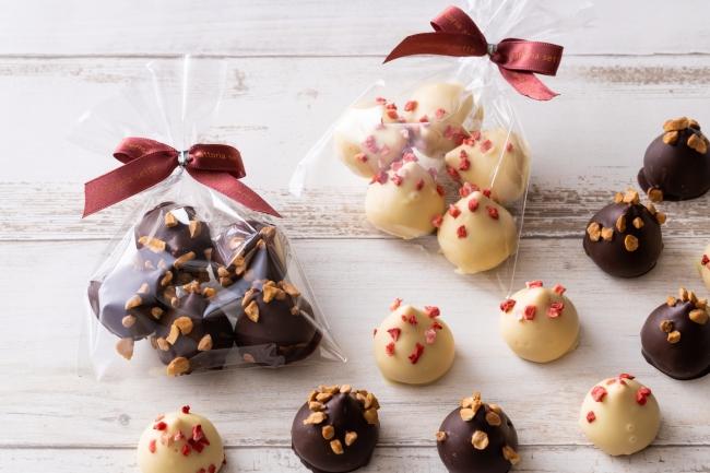 メレンゲチョコレート(2種/チョコ&ソルト、レモン&ベリー)