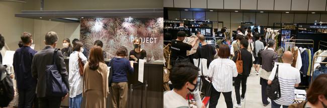 2020年9月に開催されたPROJECT TOKYO 2020 September展の様子