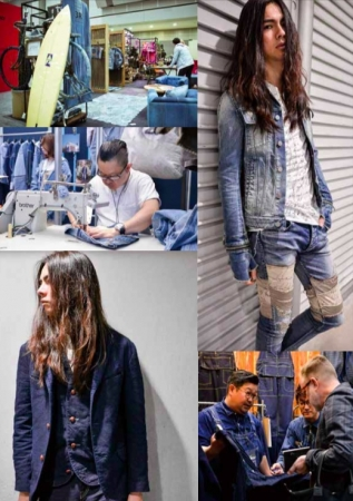 Denim Look Area