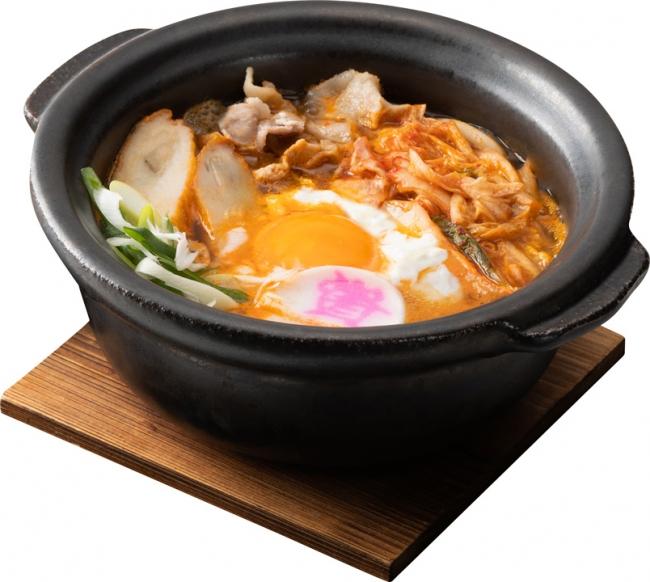 キムチ鍋うどん 700円(税込)
