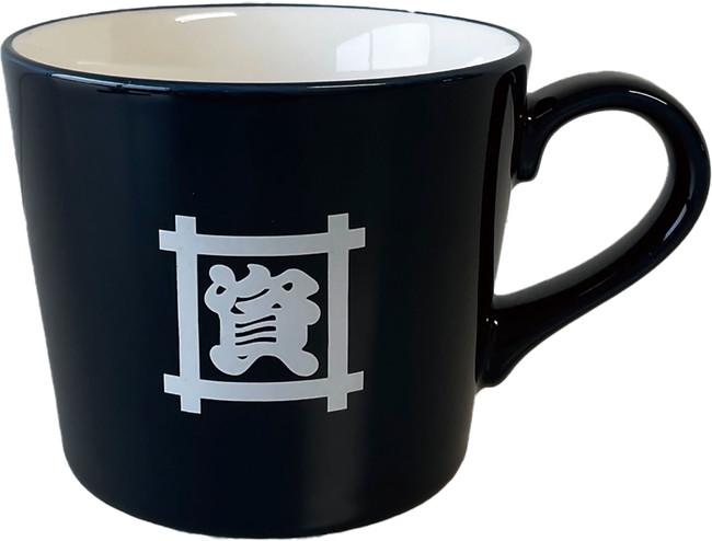 2等:マグカップ(紺)