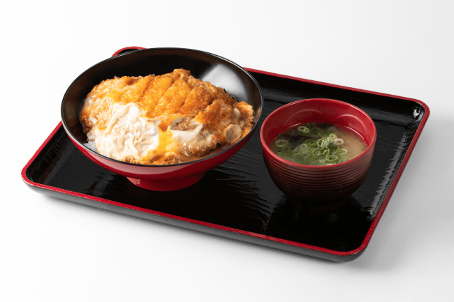 カツとじ丼(700円)
