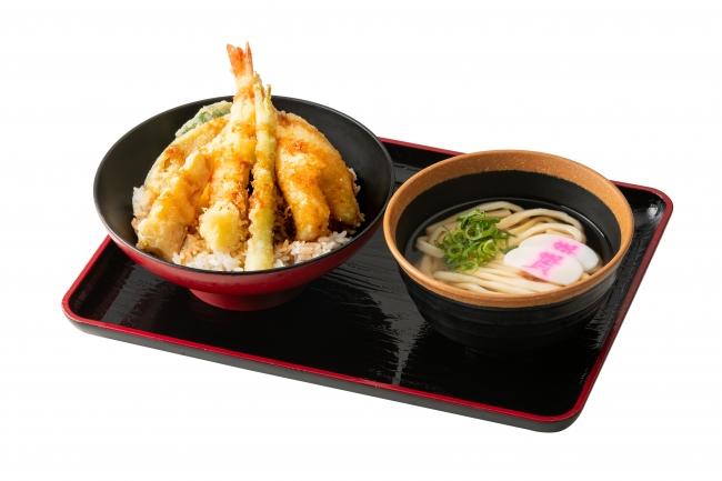 春天丼(ミニうどん付)