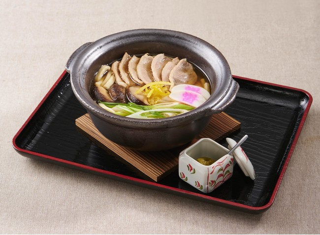 「鴨南蛮鍋うどん」830円