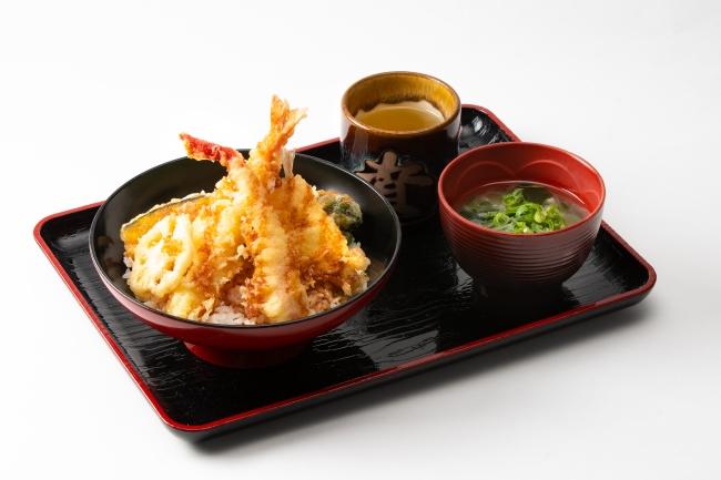 冬天丼(みそ汁付):830円(税込)