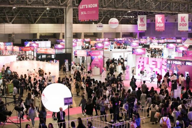KCON 2018 JAPANの様子
