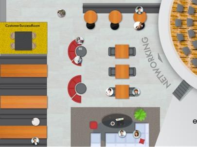 「SHABERUBA」ビジネスパーソンとのコミュニケーション(イメージ)