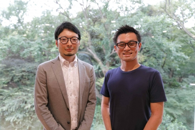 (左)waaq株式会社代表取締役CEO 半谷 尚瑛 (右)ウォンテッドリー株式会社取締役CFO 吉田 祐輔