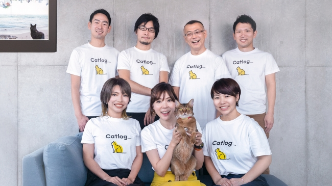 前列中央、CCO(Chief Cat Officer)のブリ丸