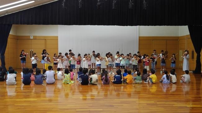 夏季練習の様子(c)FESJ2019