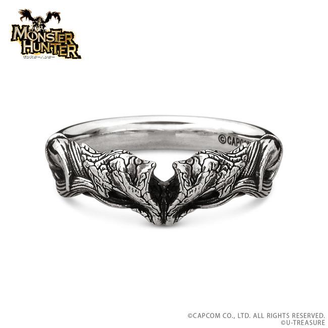 炎妃龍の指輪 シルバー