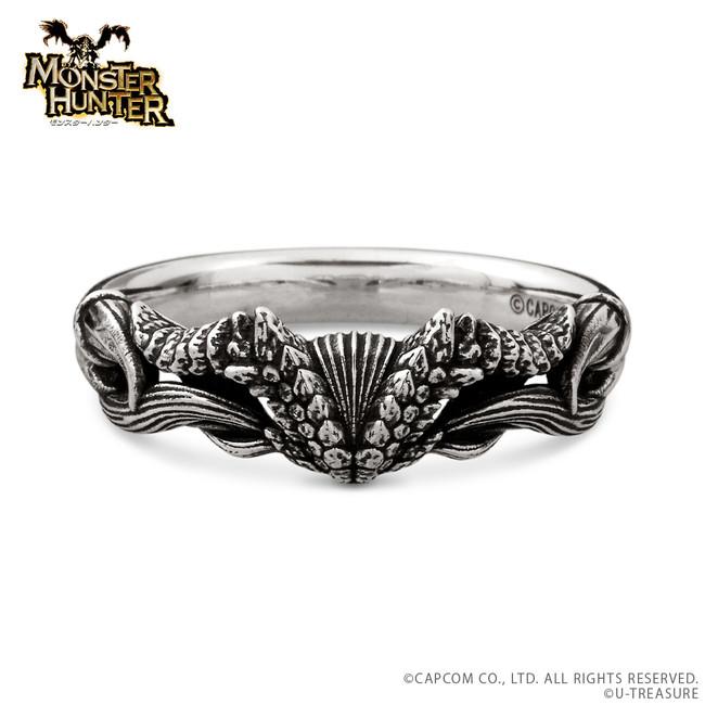 炎王龍の指輪 シルバー