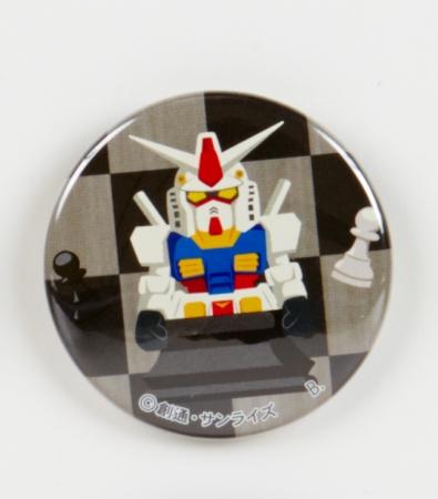 ガンダム シークレットパッケージ仕様 缶バッジ(全10種) 各432円(税込)