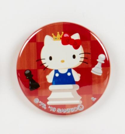 ハローキティ シークレットパッケージ仕様 缶バッジ(全10種) 各432円(税込)