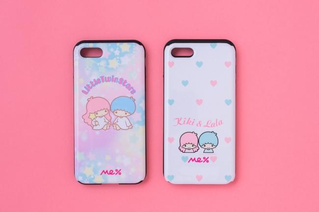 Me%|[iPhone78対応]スライドミラースマホケース2種 各¥2,980