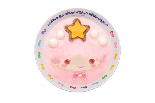 ララのお星さまハンバーグ ピンクオムライス ¥1,350
