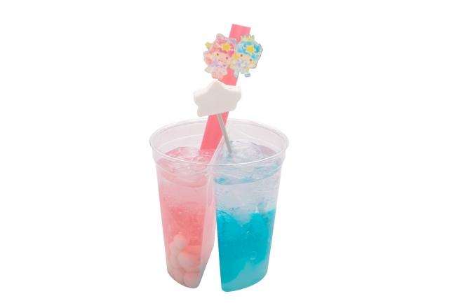 キキ&ララのTwinkle Color Miracleソーダ ¥750
