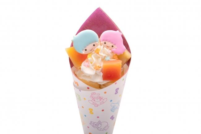 キキ&ララのフルーツクレープ ¥780 ※1月10日より販売中