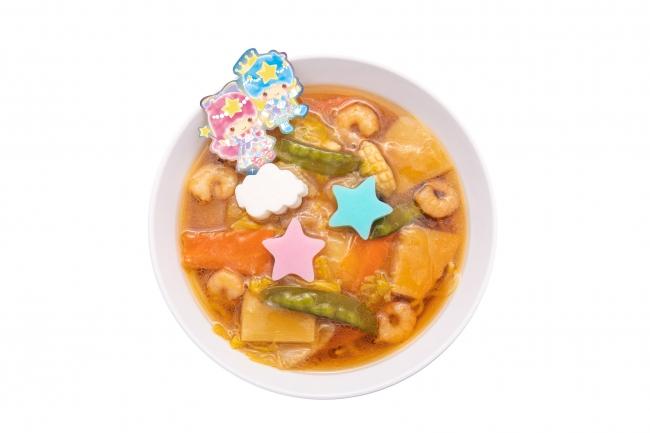 キキ&ララのふわたまあんかけ 天津麺 ¥1,300
