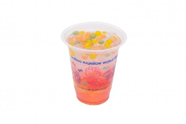 ララのピンクジュレ ソーダ ¥600