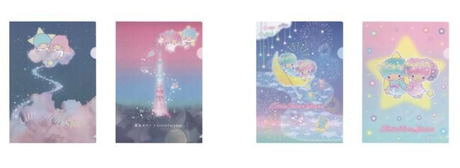 クリアファイルセット(全2種) 各660円