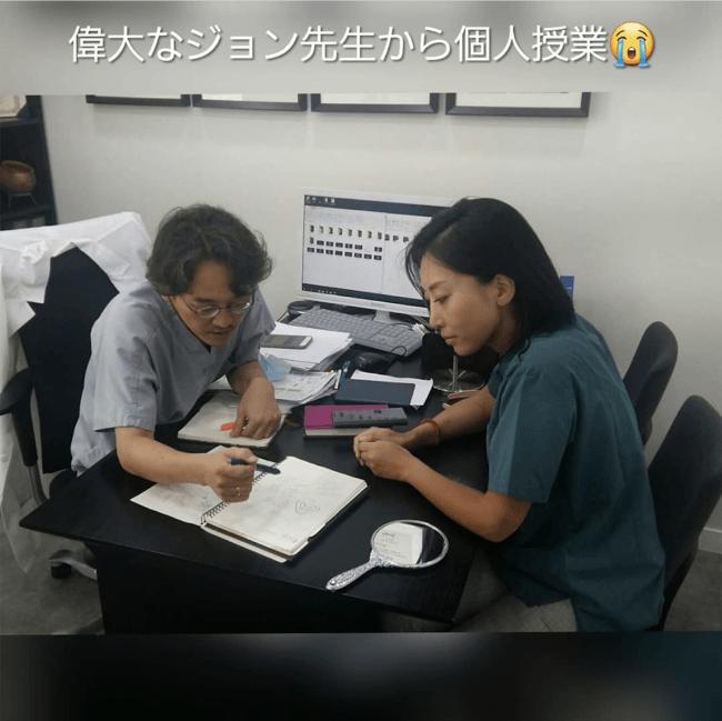 韓国でのジョン医師による個別講習