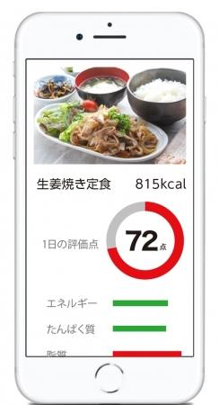 食トレアプリ「food coach」