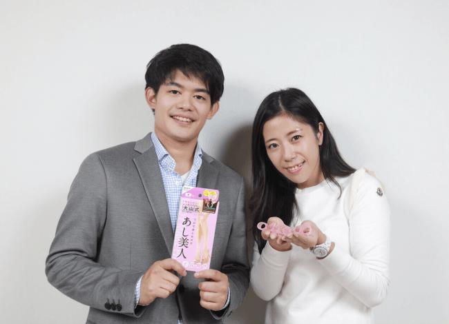 11月1日には大阪で小塚崇彦さんと商品企画部・山内ディレクターで「大山式」をPRした。