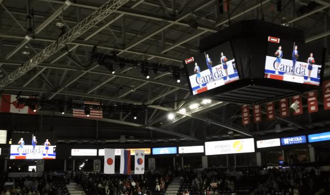 ブリティッシュコロンビア州の内陸部にある第三の都市、ケローナで行われたカナダ大会